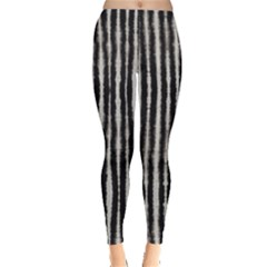 Black Strip Tie Dye Leggings