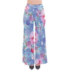 Lightbluepaisley Chic Palazzo Pants by CoolDesigns