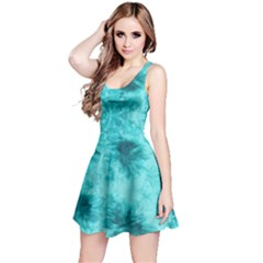 Mint Tie Dye Sleeveless Dress by CoolDesigns