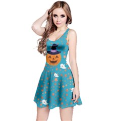 Blue Pumpkin Reversible Sleeveless Dress by CoolDesigns
