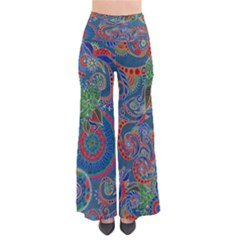 Darkmintpaisley Chic Palazzo Pants by CoolDesigns