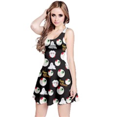 Eye Balls Reversible Sleeveless Dress