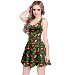 Dark Dinosaur Sleeveless Dress by CoolDesigns