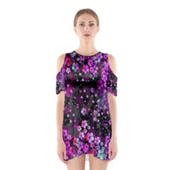 Magenta Hawaii Cutout Shoulder One Piece by CoolDesigns