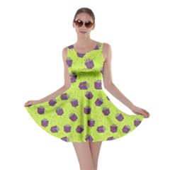 Neon Pop Corn Skater Dress