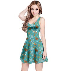 Dark Mint Reversible Sleeveless Dress