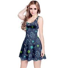 Shamrock Blue Reversible Sleeveless Dress by CoolDesigns