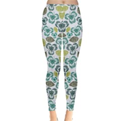 Shamrock Handraw Leggings  by CoolDesigns