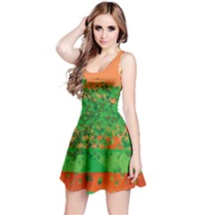 Shamrock Orange Reversible Sleeveless Dress by CoolDesigns
