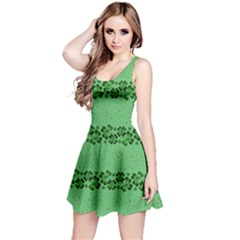 Shamrock Green Reversible Sleeveless Dress by CoolDesigns