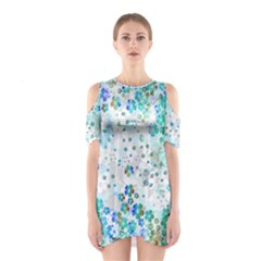 Mint Hawaii Cutout Shoulder One Piece by CoolDesigns