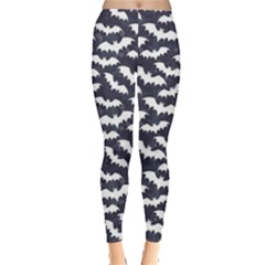 Blue Bats Pattern Women s Leggings by CoolDesigns