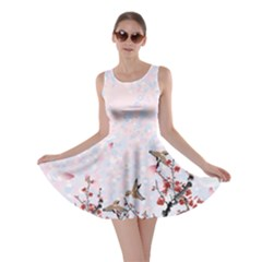 Bird Blossom Skater Dress by CoolDesigns