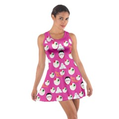 Eye Balls Pinky Cotton Racerback Dress by CoolDesigns