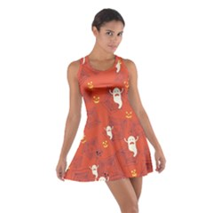 Orange Halloween Cotton Racerback Dress by CoolDesigns