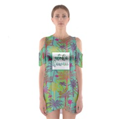 Blue Hawaii 4 Women s Cutout Shoulder One Piece by CoolDesigns