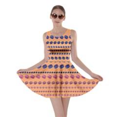 Orange Macaron Skater Dress by CoolDesigns