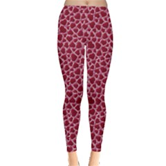Red Heart Leggings  by CoolDesigns