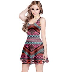 Pink Tribal Sleeveless Dress by CoolDesigns