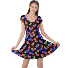 Xmas Lights Cap Sleeve Dress by CoolDesigns