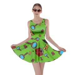 Frizzle Letter 2 Skater Dress by CoolDesigns
