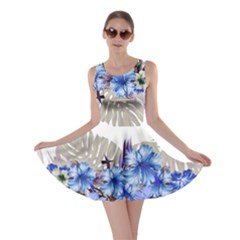 Blue Hawaii 3 Skater Dress by CoolDesigns
