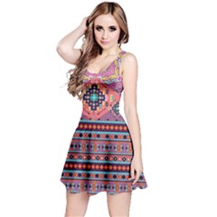 Purple Aztec Sleeveless Dress by CoolDesigns