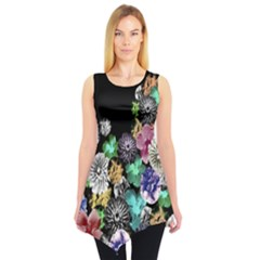 Colorful5 Sleeveless Tunic Top by CoolDesigns