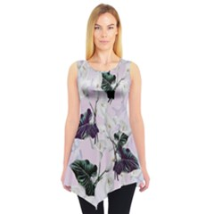 Zantedeschia Sleeveless Tunic Top by CoolDesigns