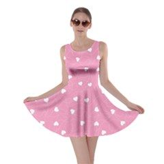 Pink Happy Valentines Day Pattern Template Skater Dress by CoolDesigns