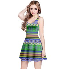 Colorful Aztec 1 Sleeveless Dress by CoolDesigns