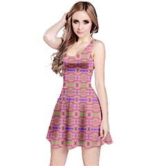 Pinky Tribal Sleeveless Dress