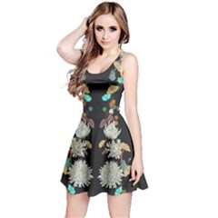 Dry Floral Sleeveless Dress by CoolDesigns