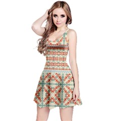 Yellow Aztec Sleeveless Dress by CoolDesigns