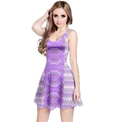 Purple Knitting Sleeveless Dress by CoolDesigns