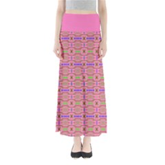 Pinky Tribal Maxi Skirt by CoolDesigns