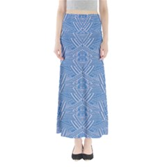 Blue Aztec Maxi Skirt by CoolDesigns