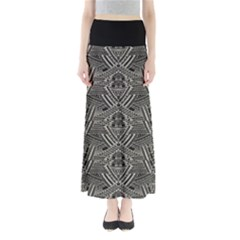 Dark Aztec Maxi Skirt by CoolDesigns