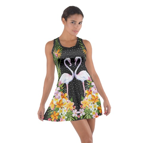 Hawaii Dark Cotton Racerback Dress