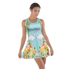 Hawaii Sky Cotton Racerback Dress by CoolDesigns
