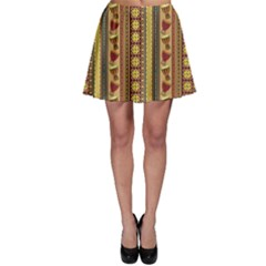 Colorful African Drum Ornament Skater Dress by CoolDesigns