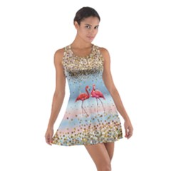 Starry Sky Cotton Racerback Dress by CoolDesigns