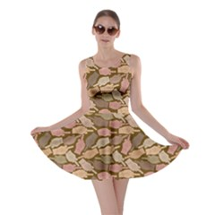 Brown Finger Skater Dress by CoolDesigns