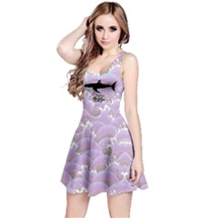 Purple Sea Reversible Sleeveless Dress by CoolDesigns