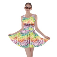 Colorful Abstract Pattern Skater Dress by CoolDesigns