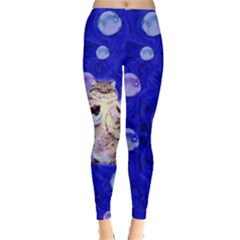 Bubble Cats Leggings  by CoolDesigns