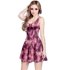 Magenta Tie Dye Sleeveless Dress