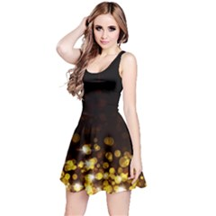 Xmas Golden Reversible Sleeveless Dress