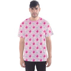 Pink Symbols Of Easter Men s Sport Mesh Tee by CoolDesigns