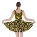 Brown Organic Food Theme Bananas Pattern Skater Dress View2